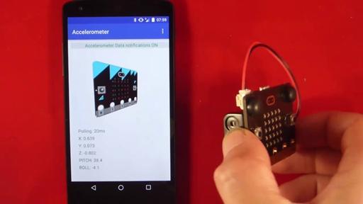 AccelerometerService - micro:bit runtime